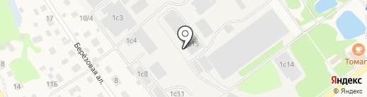 Апрелевская мебельная фабрика на карте Апрелевки