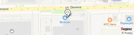 Велком на карте Павловской Слободы