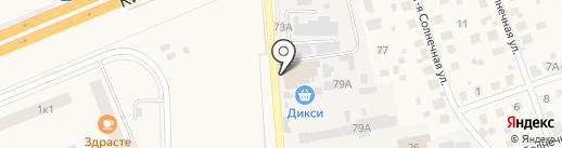 Лесное на карте Апрелевки