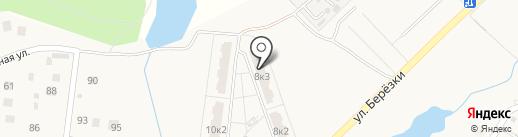 Кутузовские березы на карте Богородского