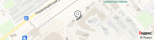 Главстройинвест на карте Апрелевки
