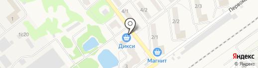 Дикси на карте Апрелевки