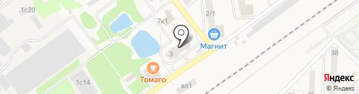 Магазин хозтоваров на карте Апрелевки