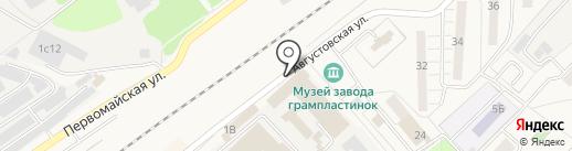 Формс технолоджи на карте Апрелевки
