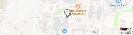 Магазин автозапчастей на карте Павловской Слободы