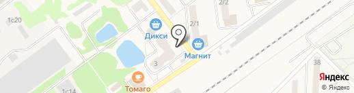 Бристоль на карте Апрелевки