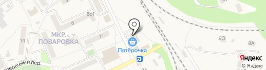 Пятерочка на карте Поварово