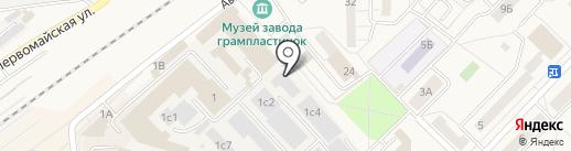 Текстильцентр на карте Апрелевки