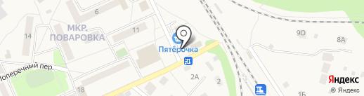 Цветочный магазин на карте Поварово