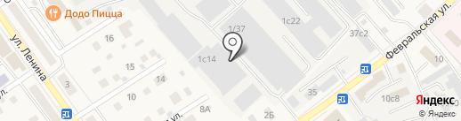 Гросстек на карте Апрелевки