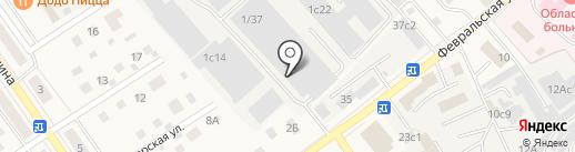Компания по аренде помещений на карте Апрелевки