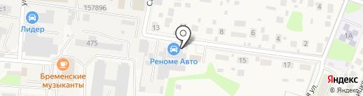 Реноме Авто на карте Павловской Слободы