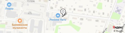 Автосервис на карте Павловской Слободы