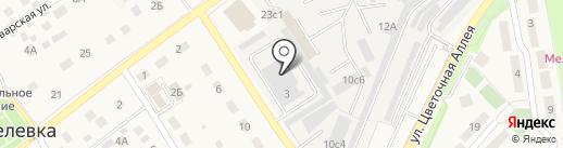 Фабрика Камня на карте Апрелевки
