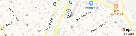 Фасоль на карте Апрелевки
