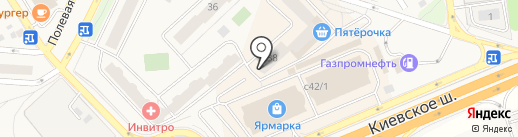 Ингосстрах, СПАО на карте Апрелевки