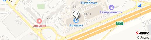Магазин мультимедийной продукции на карте Апрелевки