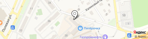 Печник на карте Апрелевки
