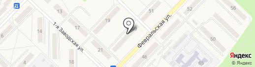 Нео на карте Апрелевки