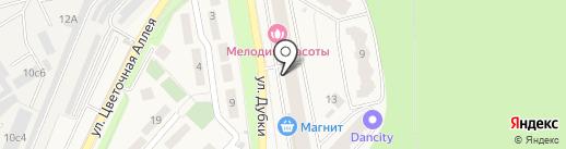 Универстрой на карте Апрелевки