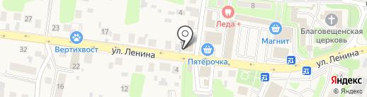 Продуктовый магазин на карте Павловской Слободы