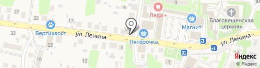 Киоск фастфудной продукции на карте Павловской Слободы