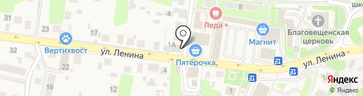 Попурри на карте Павловской Слободы