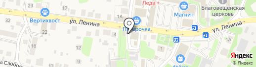Фермер на карте Павловской Слободы