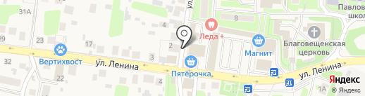 Магазин товаров для рыбалки на карте Павловской Слободы