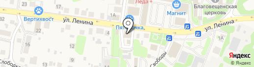 Дом на карте Павловской Слободы
