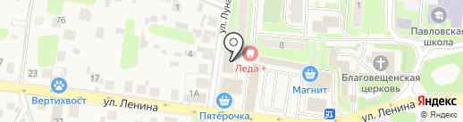 Статус Qво на карте Павловской Слободы