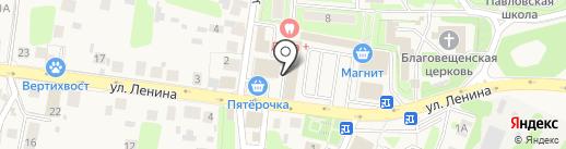 Магазин стройматериалов на карте Павловской Слободы