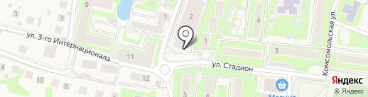Павловская участковая больница на карте Павловской Слободы
