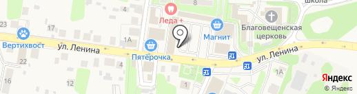 Банк Воронеж на карте Павловской Слободы