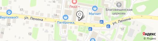 Магазин фастфудной продукции на карте Павловской Слободы