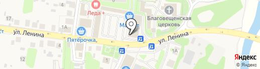 Магазин мужской одежды на карте Павловской Слободы
