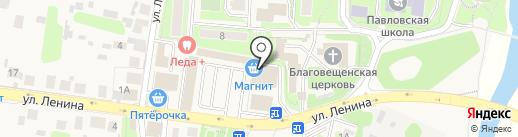 Рынок на карте Павловской Слободы