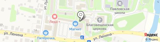 Киоск хлебобулочных изделий на карте Павловской Слободы