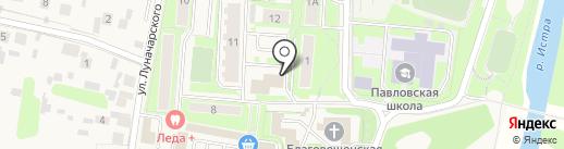 Магазин обуви на карте Павловской Слободы