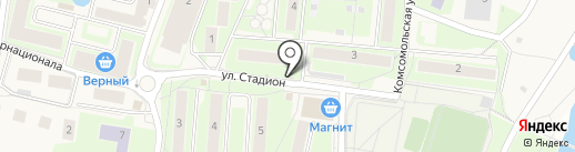 Киоск по продаже фруктов и овощей на карте Павловской Слободы