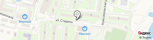 Киоск по продаже мяса на карте Павловской Слободы