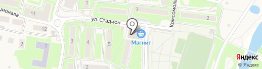 Ника на карте Павловской Слободы