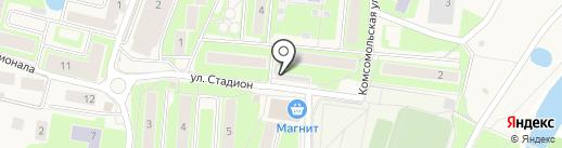 Магазин колбасных изделий на карте Павловской Слободы