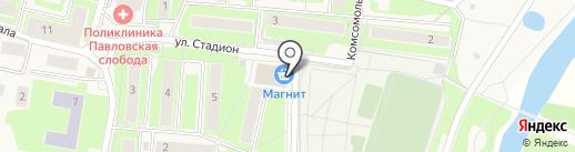Банкомат, Сбербанк, ПАО на карте Павловской Слободы