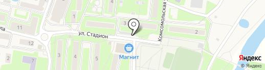 Продовольственный магазин на карте Павловской Слободы