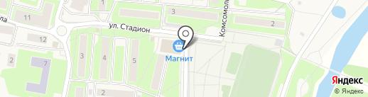 Магнит на карте Павловской Слободы