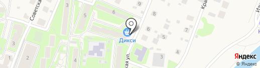 Дикси на карте Павловской Слободы