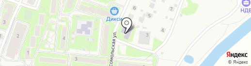 Павло-Слободская детская музыкальная школа на карте Павловской Слободы