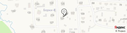 ЗАБОТА на карте Борок
