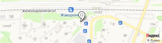 De la Familia на карте Жаворонков